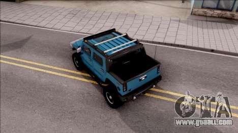 Hummer H2 Sut 4x4 for GTA San Andreas