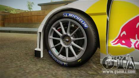 Volkswagen Polo R WRC for GTA San Andreas back view