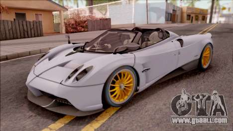 Pagani Huayra Roadster 2017 for GTA San Andreas