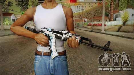 CS: GO AK-47 Vulcan Skin for GTA San Andreas third screenshot