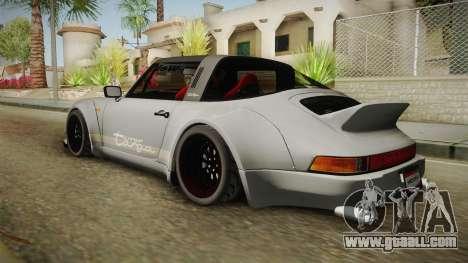 Porsche 911 RWB Terror 1982 for GTA San Andreas left view