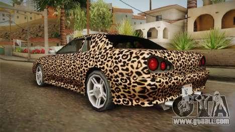 New Elegy Paintjob v3 for GTA San Andreas left view