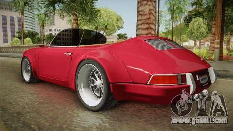 Porsche 911 RWB Speedster 1984 for GTA San Andreas left view