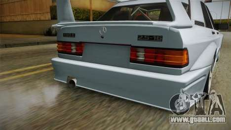 Mercedes-Benz W201 190E for GTA San Andreas side view
