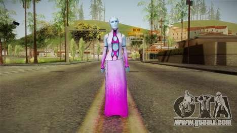 Mass Effect 3 Shaira Dress for GTA San Andreas second screenshot