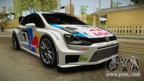 Volkswagen Polo R WRC for GTA San Andreas