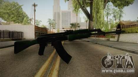CS: GO AK-47 First Class Skin for GTA San Andreas