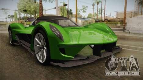 GTA 5 Dewbauchee Vagner IVF for GTA San Andreas right view