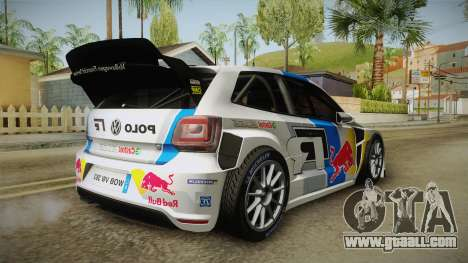 Volkswagen Polo R WRC for GTA San Andreas right view
