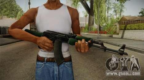 CS: GO AK-47 First Class Skin for GTA San Andreas third screenshot