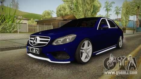 Mercedes-Benz E250 Noyan for GTA San Andreas