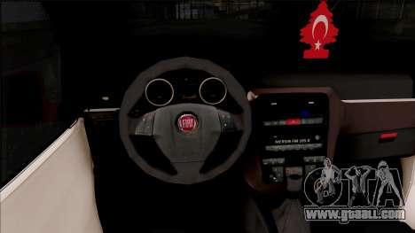 Fiat Fiorino for GTA San Andreas inner view