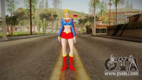 DC Universe - Supergirl for GTA San Andreas second screenshot