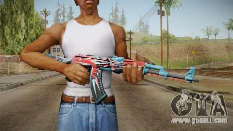 CS: GO AK-47 Point Disarray Skin for GTA San Andreas third screenshot