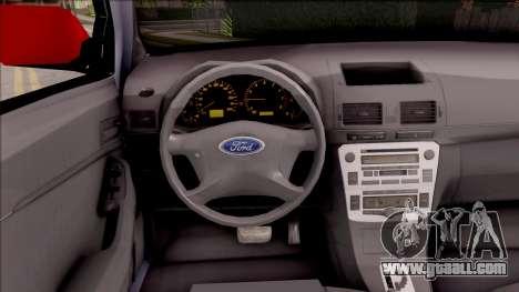 Ford Ranger 2014 Edition Flux Som for GTA San Andreas inner view