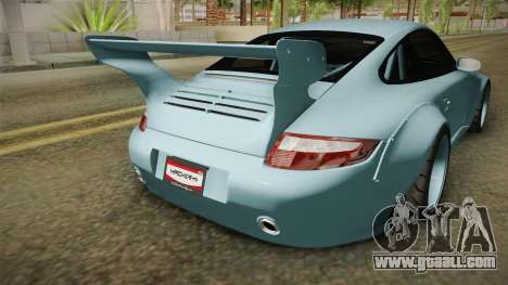Porsche 997 Old & New 2008 for GTA San Andreas side view