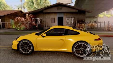 Porsche 911 R for GTA San Andreas left view