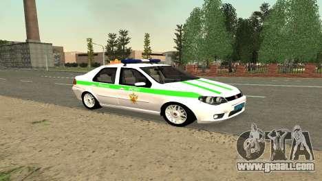 Fiat Albea FSIN for GTA San Andreas left view