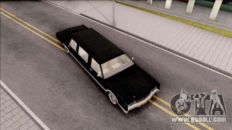 Driver PL Chauffeur for GTA San Andreas right view