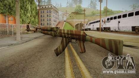 CS: GO AK-47 Predator Skin for GTA San Andreas second screenshot