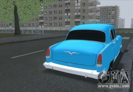 GAZ 21 for GTA San Andreas back left view