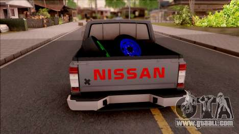 Nissan Ddsen Skrab 2016 for GTA San Andreas back left view