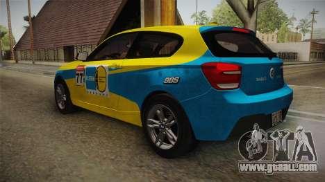 BMW M135i 2013 for GTA San Andreas wheels