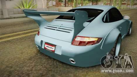 Porsche 997 Old & New 2008 for GTA San Andreas upper view