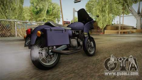 HPV 1000 Reborn for GTA San Andreas left view
