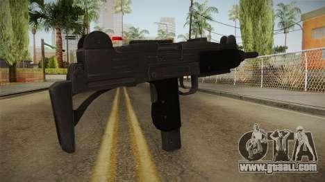 Battlefield Hardline Uzi for GTA San Andreas second screenshot