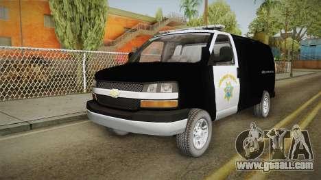 Chevrolet Express CHp for GTA San Andreas