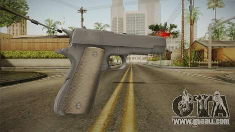 Mirror Edge Colt M1911 v2 for GTA San Andreas second screenshot