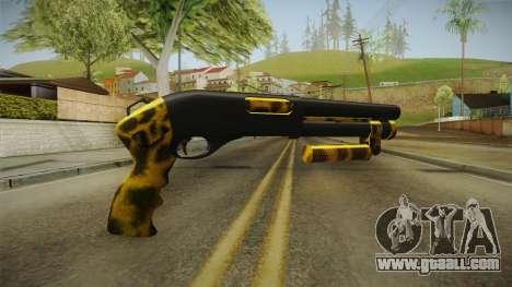 Leopard Shotgun for GTA San Andreas second screenshot