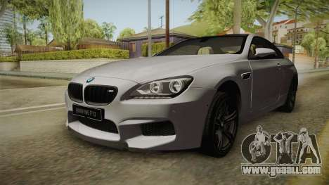 BMW M6 Coupe (F13) for GTA San Andreas right view