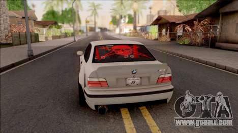 BMW M3 E36 Drift Rocket Bunny v2 for GTA San Andreas back left view
