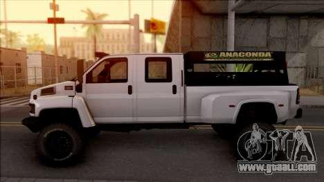 GMC Topkick C4500 Off-Road for GTA San Andreas left view