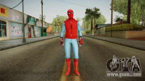 Marvel Heroes Omega - Homemade Suit v1 for GTA San Andreas second screenshot