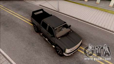 Chevrolet Silverado 2015 Off-Road for GTA San Andreas right view