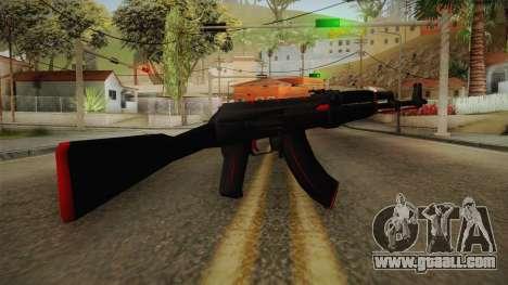 CS: GO AK-47 Redline Skin for GTA San Andreas second screenshot