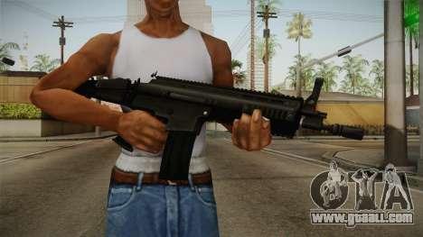 Mirror Edge FN SCAR-L for GTA San Andreas third screenshot