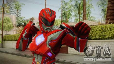 Red Ranger Skin for GTA San Andreas