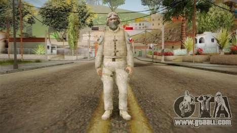 Soldado del Ejercito Chileno for GTA San Andreas second screenshot