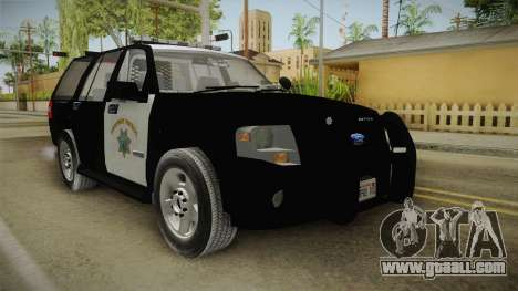 Ford Expedition CHP for GTA San Andreas right view