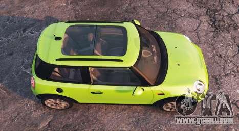 GTA 5 Mini Cooper S (F56) 2015 [replace] back view