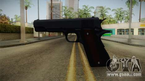 Mirror Edge Colt M1911 v1 for GTA San Andreas second screenshot