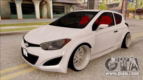 Hyundai i20 for GTA San Andreas