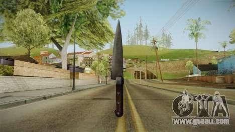 Silent Hill Downpour - Knife SH DP v1 for GTA San Andreas second screenshot