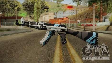 CS: GO AK-47 Vulcan Skin for GTA San Andreas second screenshot