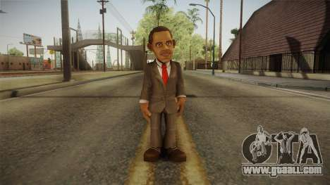 Barack Obama DD Skin for GTA San Andreas second screenshot
