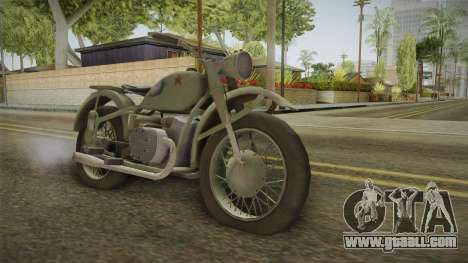 Classic Bullet for GTA San Andreas right view